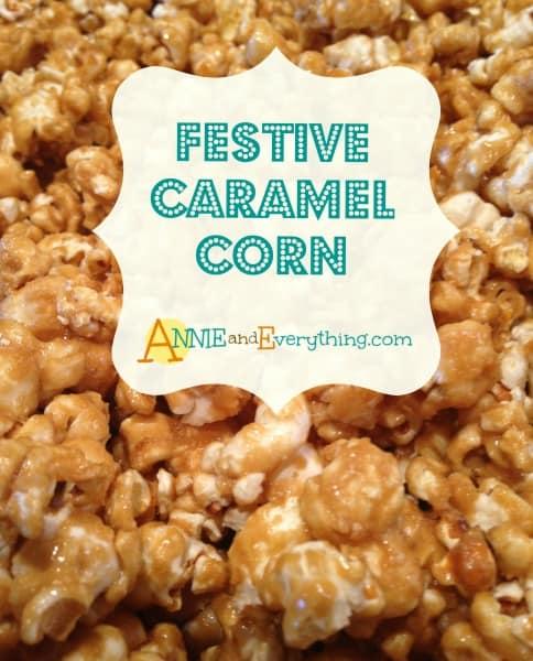 Festive Caramel Corn