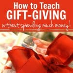 Dollar Store Christmas: How to Teach Gift-Giving Without Spending Much Money