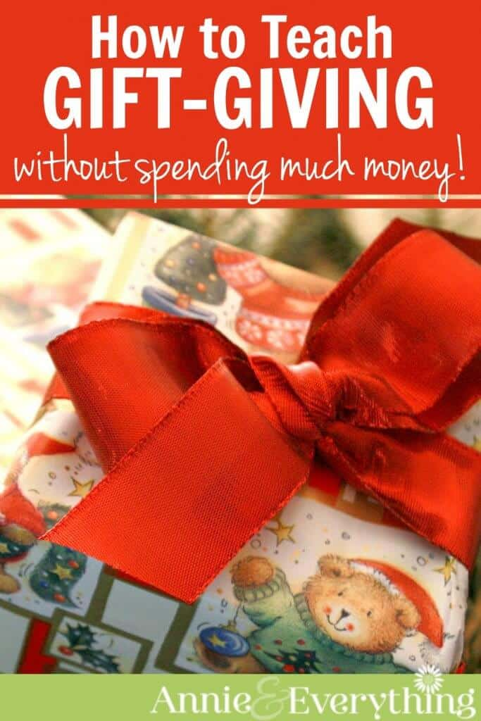 Frugal Christmas Ideas - When our Christmas gift budget was tight we made a new holiday tradition at the dollar store. The kids had a blast - find out how!