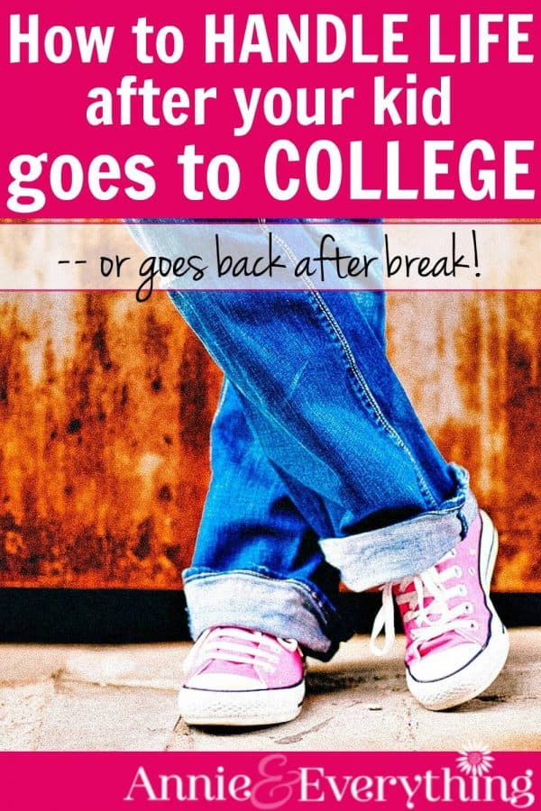 If you are a parent who is struggling because your kid is at college and you are at home missing them, here are some tips to cope. From a mom who knows!