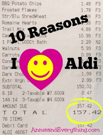 Aldi grocery store has supplanted W-mart as my primary food store. Read why in this article.