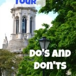 College Tour Do's and Don'ts