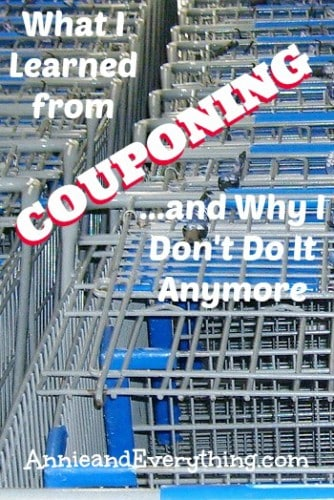 There are lots of good frugal practices to be learned from couponing -- read to see what I learned, and also why I decided it just wasn't for me.