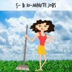 Not Your Typical Spring Cleaning Tips: 5- & 10-Minute Jobs