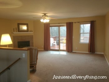 Need examples of home staging to get you motivated? Here's one before and after scenario.