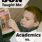 What My Son Has Taught Me About Academics vs. Maturity in Boys