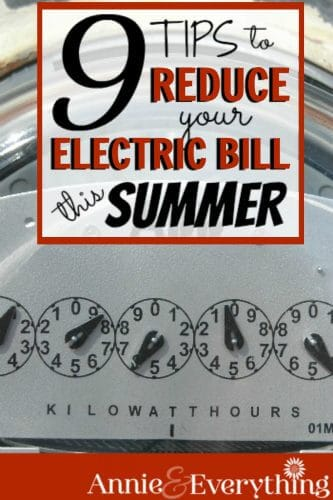 These ways to reduce my electric bill really help! Now I can stay cool without giving all my money to the utility company!