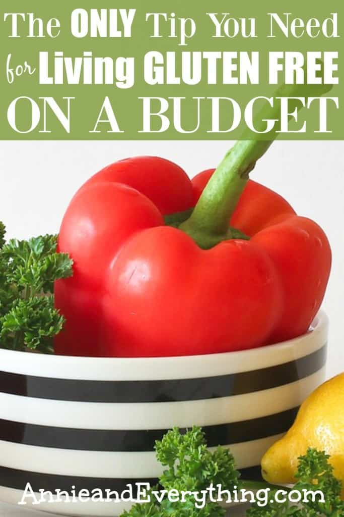 Are you finding that gluten free living is expensive? I've got the ONLY tip you need to keep your gluten free grocery budget in line. Start saving today!