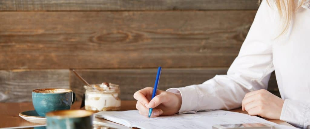Homeschool high school writing curriculum recommendations and tips for how to grade your teen's writing and how to approach SAT / ACT essays. This part of language arts doesn't have to be difficult for either teacher or student! Also links to other resources to help kids at this age with learning to write well.
