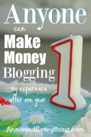 Want to know what it takes to make money blogging? Here are my thoughts after working on it for a year.