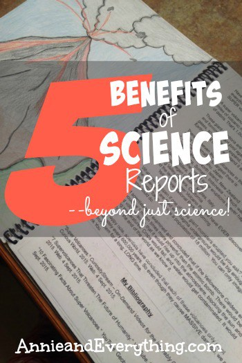 Wondering if doing science reports is worth it for your homeschool? We love 'em! Read to find out why!