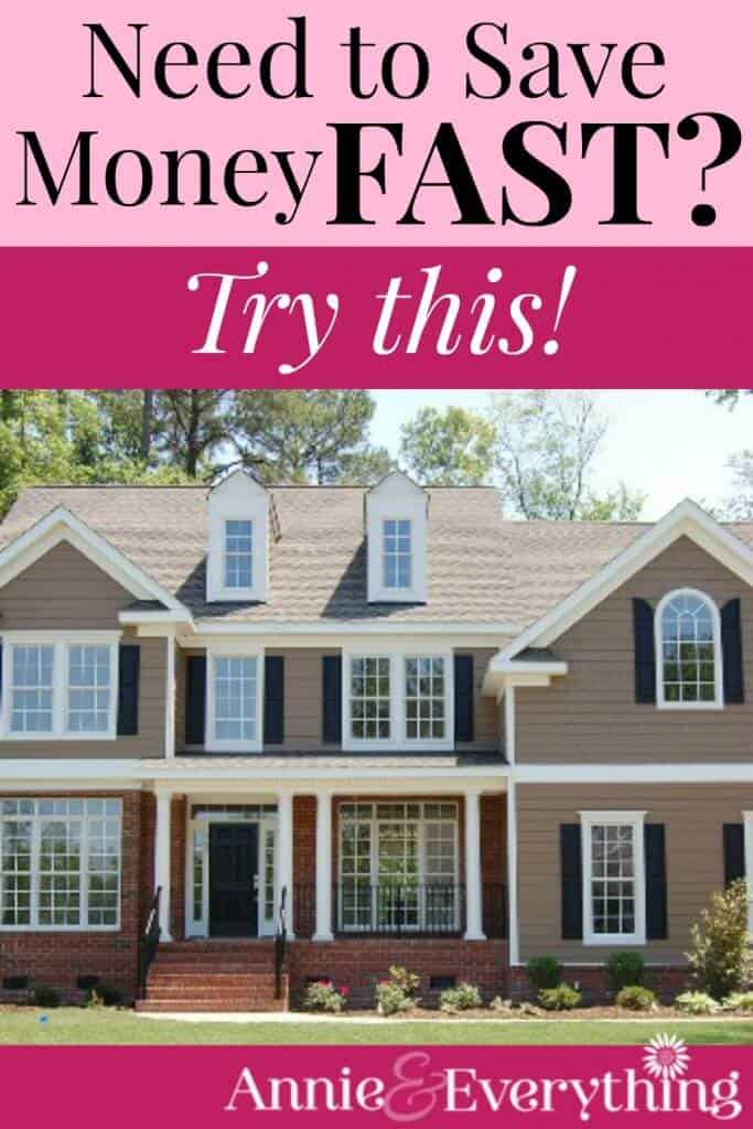 Is money tight for you RIGHT NOW? One of the fastest ways to save money is also one of the easiest! I was surprised by how much I could save!