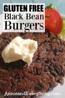 Do you need dinner for tonight that is quick, inexpensive, and loved by all? I've adapted a famous blogger's black bean burger recipe to make it gluten free and still taste YUMMY! You'll have it on the table in no time!