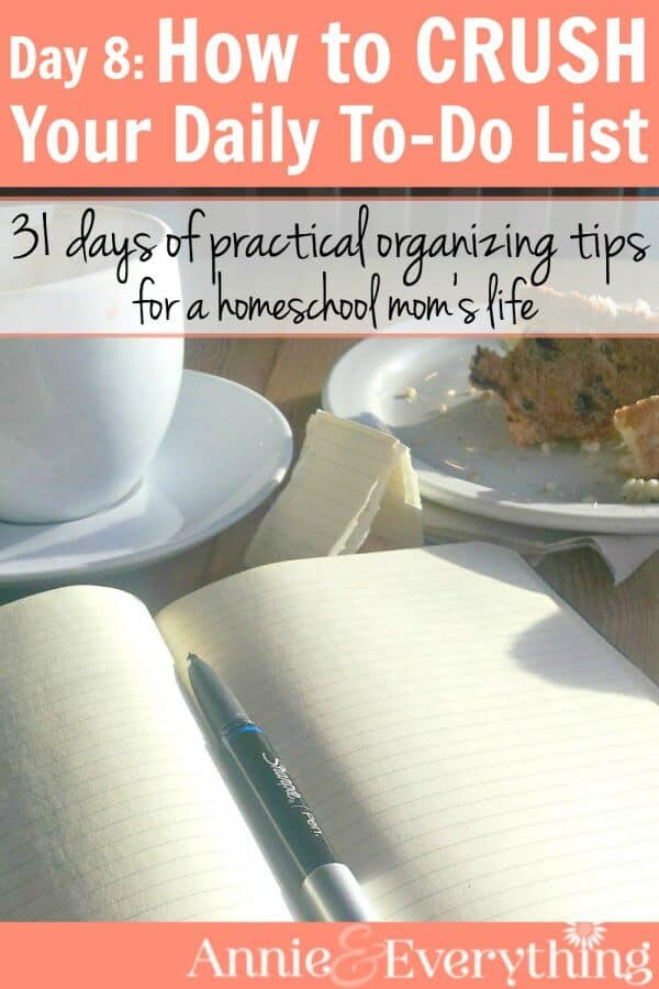 There are a lot of time management tips out there, but this one is super effective for moms to boost their motivation and productivity. Whether you stay at home or work, this is one of the best ideas to help your mornings and entire daily schedule go better. Part of a series of organizing tips for your whole life.
