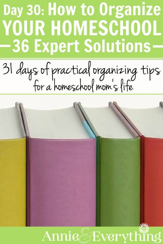 If you need homeschool organization ideas, this is the place to be. 36 great articles with simple tips for organizing your curriculum and lesson plans, doing homeschool in small spaces, and more. Browse a few today - and then pin so you can read more later!