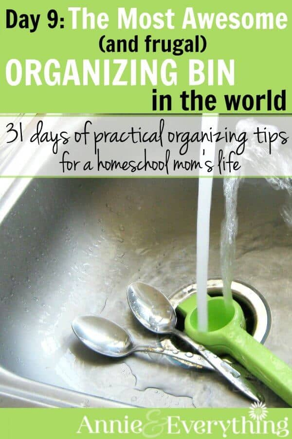 Forget expensive organizing bins. This one is better and cheaper! You can use them everywhere, from the linen closet shelves to the office. Perfect for homeschool organization! Check it out!