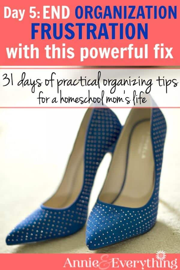 This organization tip will revolutionize your entire life. It's one of the best ideas to keep in mind when organizing almost anything in your home. Lots of applications in the kitchen, closet, and the kids' bedrooms! Read the whole series!