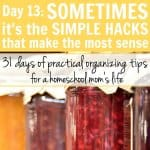 Day 13: Sometimes It's the Simple Hacks that Make the Most Sense
