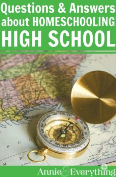 14 common questions about homeschooling high school have been answered here! Written by a veteran homeschool mom who has graduated four kids. Check it out!