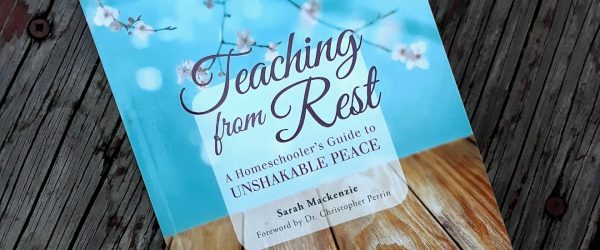 """You've heard about """"teaching from rest,"""" but you're in the high school years now. How does the idea translate to homeschooling your teen? Read to find out!"""