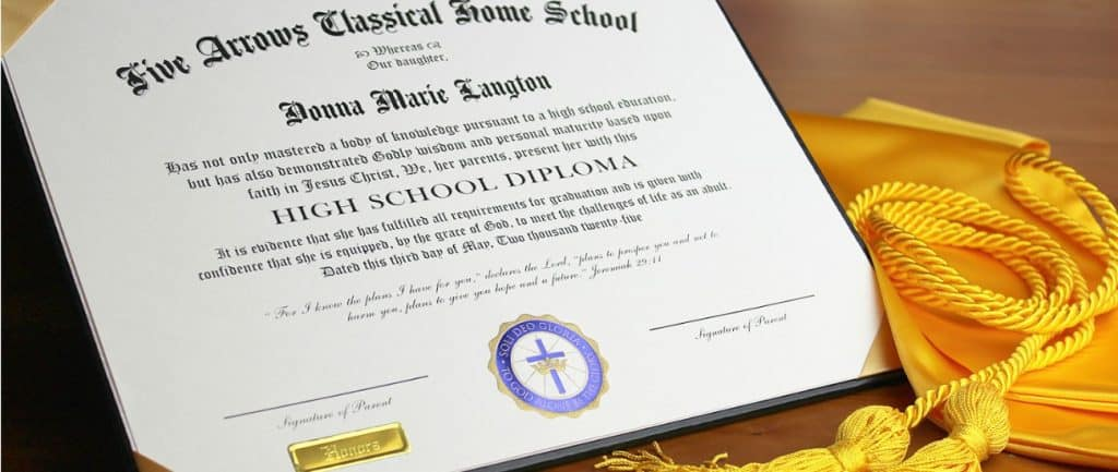 Getting a homeschool high school diploma is a simple process that anyone can accomplish easily. Find out exactly what a diploma is and how (and where!) to get yours.
