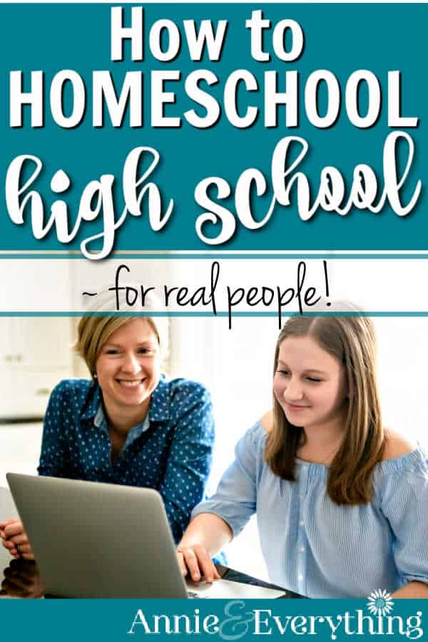 Find how to homeschool high school right here, so you can confidently prepare, plan, organize, and finish -- and be successful! No worries!