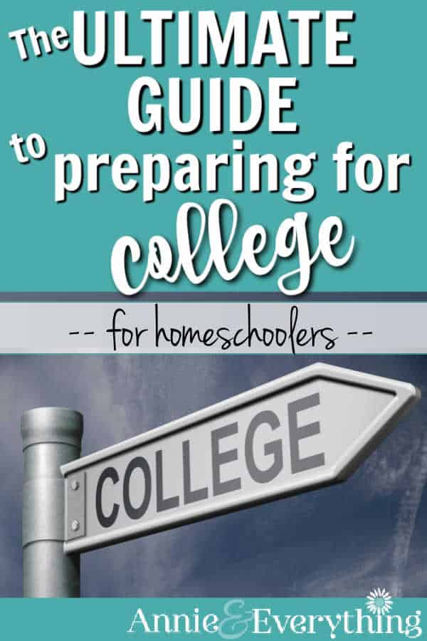 Get the plan for preparing for college so you don't miss anything and can be confident your homeschooled teen will succeed there.
