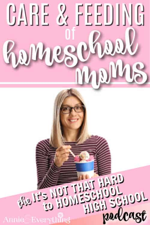 Are you practicing homeschool mom self care? Listen for ideas and encouragement to take care of YOU so you can better take care of others.